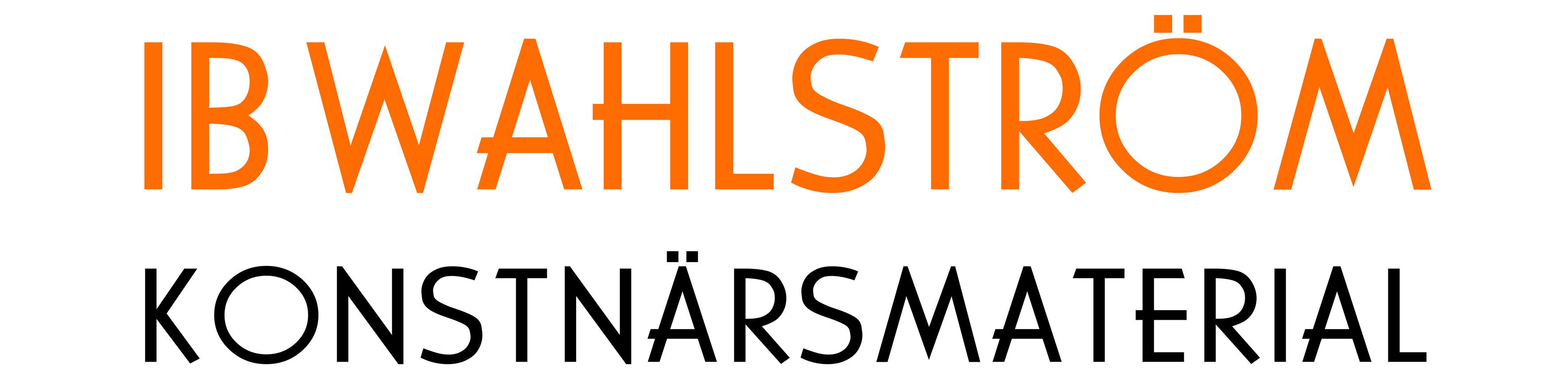 Ib Wahlström konstnärsmaterial